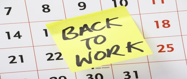 Return to work courses